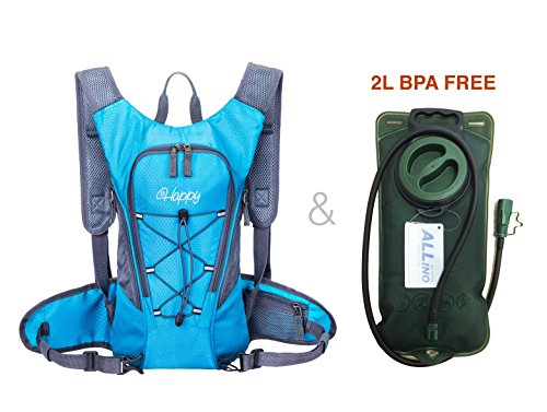 Hydration Pack with 2L Backpack hydration Bladder From HappySmile ...