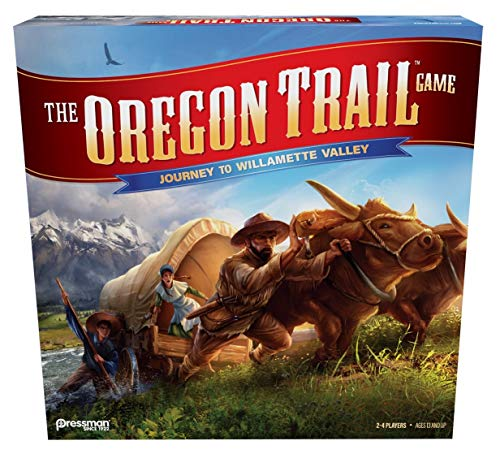 The Oregon Trail: Journey to Willamette Valley by Pressman (Best Oregon Trail Game)
