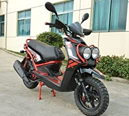 amazon com brand new 150cc boom rugged 4 stroke moped scooter air Land Rover Schematics brand new 150cc boom rugged 4 stroke moped scooter air cooled drive belt starter electrical starter by saferwholesale leather bound