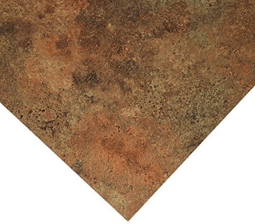 MINTCRAFT CL1992 Vinyl Floor Tile Rustic (Rust Vinyl Flooring)