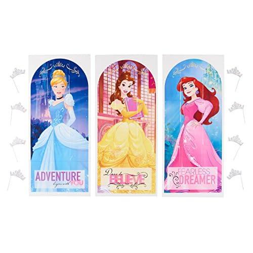 American Greetings Disney Princess Backdrop Props Photo Kit Durable Service