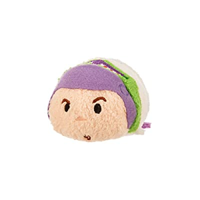 "Disney Buzz Lightyear ''Tsum Tsum'' Plush - Toy Story - Mini - 3 1/3"": Toys & Games"