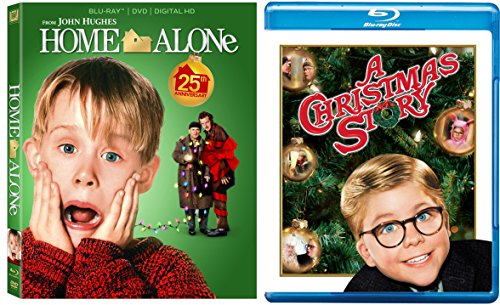Home Alone 1 & A Christmas Story 2-Blu-ray Christmas Bundle