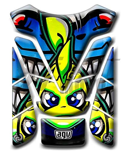 9FastMoto 3D Motorcycle Tank Pad Protector for Motorbike Racing Fuel//Oil//Gas Tank Decals Decal Blue