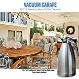XuCoo Coffee Pot Stainless Steel 68 oz/2