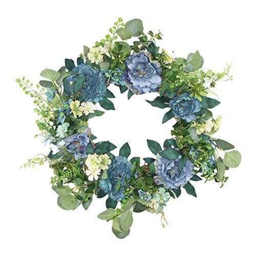 Emlyn Artificial Silk Wreath - 17