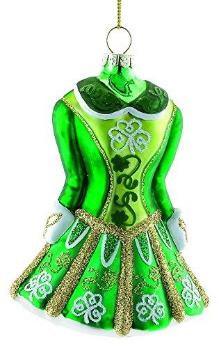 s Irish Dress Ornament (Irish Dancer Ornament)