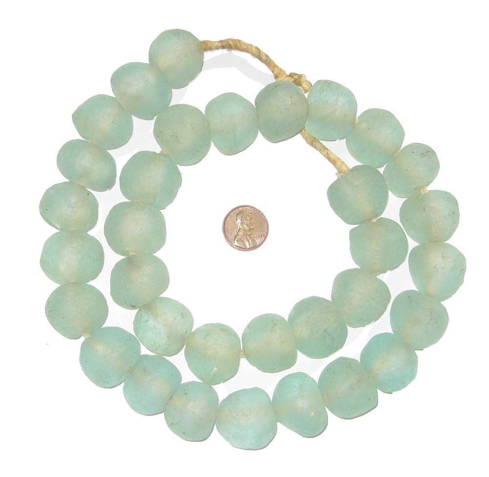 Recycled sea glass beads from Africa. Come discover Zen Cozy Self-Care Gifts for Millennials & Holiday Humor! #giftguide #millennials #cozygifts