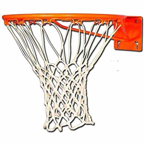 Heavy Duty Official Size Single Steel Basketball Rim by Trigon Sports