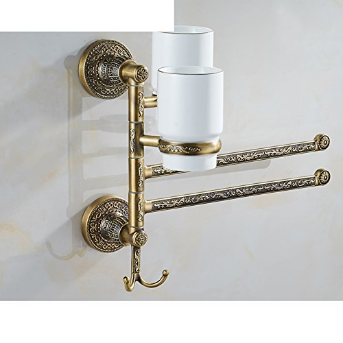 80%OFF active folded Towel rack/Antique revolving Towel Bar-B