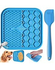 Pet Lick Mat, Slow Feeder Lick Pad-Boredom Distraction-Anxiety Relief Peanut Butter Lick Pad-Promote Health/Feeder for Fun Licking Mat for Dogs&Cats