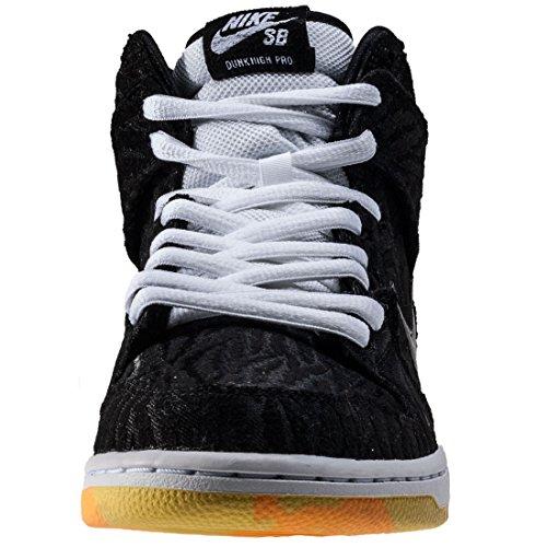 Nike 305050-034, Zapatillas de Baloncesto para Mujer Negro (Black / Black / White / Laser Orange)