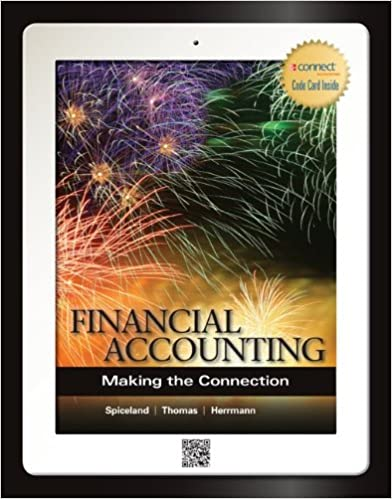 Financial accounting making the connection j david spiceland financial accounting making the connection j david spiceland wayne thomas don herrmann 9780077862268 amazon books fandeluxe Choice Image
