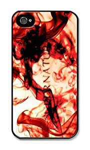 Iphone 4s Case Creative Supernatural Poster Black PC Hard Case For Apple Iphone 4S