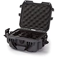 Nanuk 905 Waterproof Hard Drone Case with Custom Foam Insert for DJI Spark – Graphite