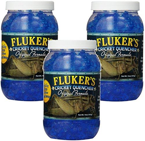 (3 Pack) Fluker's 16-Ounce Cricket Quencher Original Formula ()