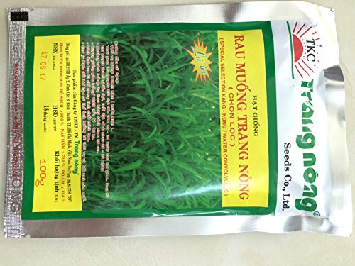 Hat giong rau muong 100g (Morning glory, water spinach) High germination rate, & yield, pest - Hat Malabar