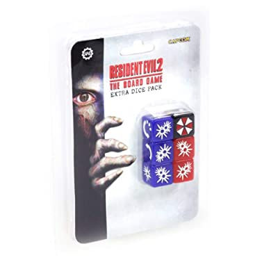 Steamforged Games Resident Evil 2: Extra Dice Set: Toys & Games