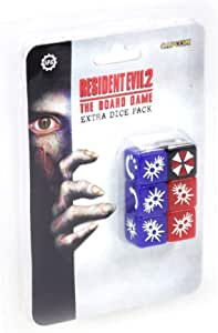 Steamforged Games Resident Evil 2 The Board Game Extra Dice Set ...