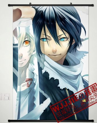 Home Decor Anime Hot Noragami Yato Cosplay Wall Scroll Poste