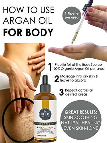Propiedades del aceite de argán para el cuerpo