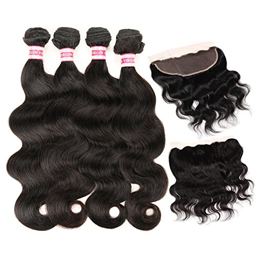 Fabeauty Frontal Brazilain Bleached 12inches product image