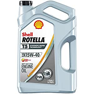 Shell rotella t5 15w 40 synthetic blend diesel for Shell synthetic blend motor oil