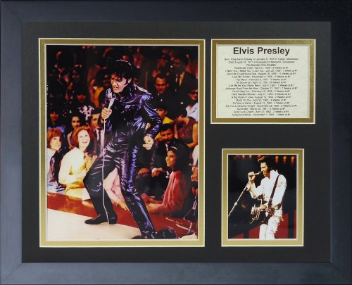 Legends Never Die Elvis Presley In Concert Framed Photo Collage, 11x14-Inch by Legends Never Die