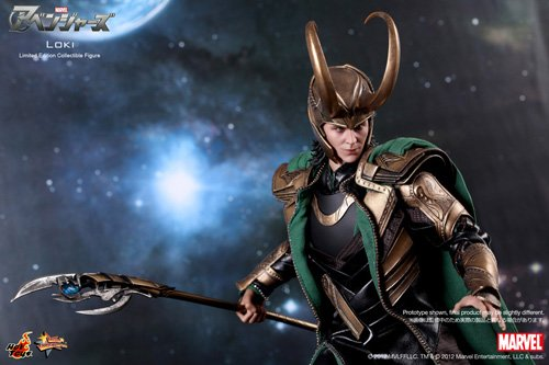 Hot Toys - The Avengers Movie Masterpiece Action Figure 1/6 Loki 32 cm