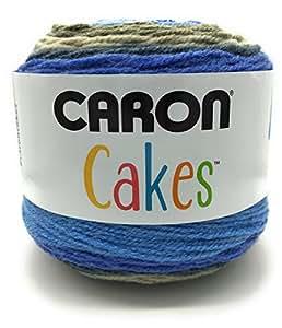 Caron Cake Self Striping Yarn 1 Ball Berries and Cream 7.1 ounces