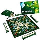 Mattel Scrabble - Juego de mesa (en inglés)