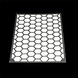 RydeSafe Reflective Decals - Hexagon Kit - Large