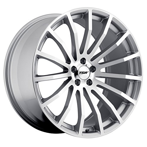 "TSW 18"" Inch 5x114.3 4 Wheels Rims Mallory 18x8 +40mm Silver"