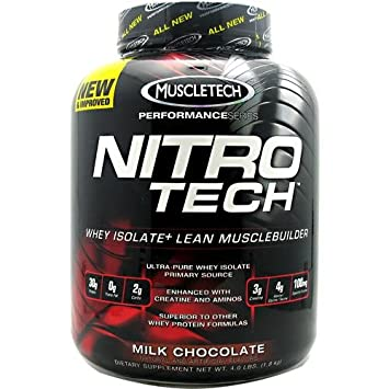 MuscleTech NitroTech Performance Series Whey Isolate Chocolate 4lb