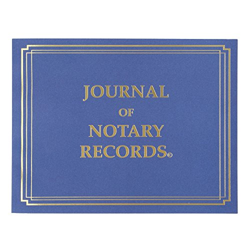 StampXpress Premium Notary Journal, Softcover, 140 Pages with 600 Entries, All States (NJ)