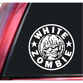 White Zombie Vynil Car Sticker Decal Select Size