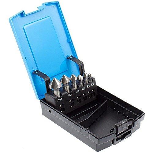 Kegelsenker Set 6,3 8,3 8,3 8,3 10,4 12,4 16,5 20,5 mm DIN 335 C 90° B01N63N9JG | Speichern  53aefa