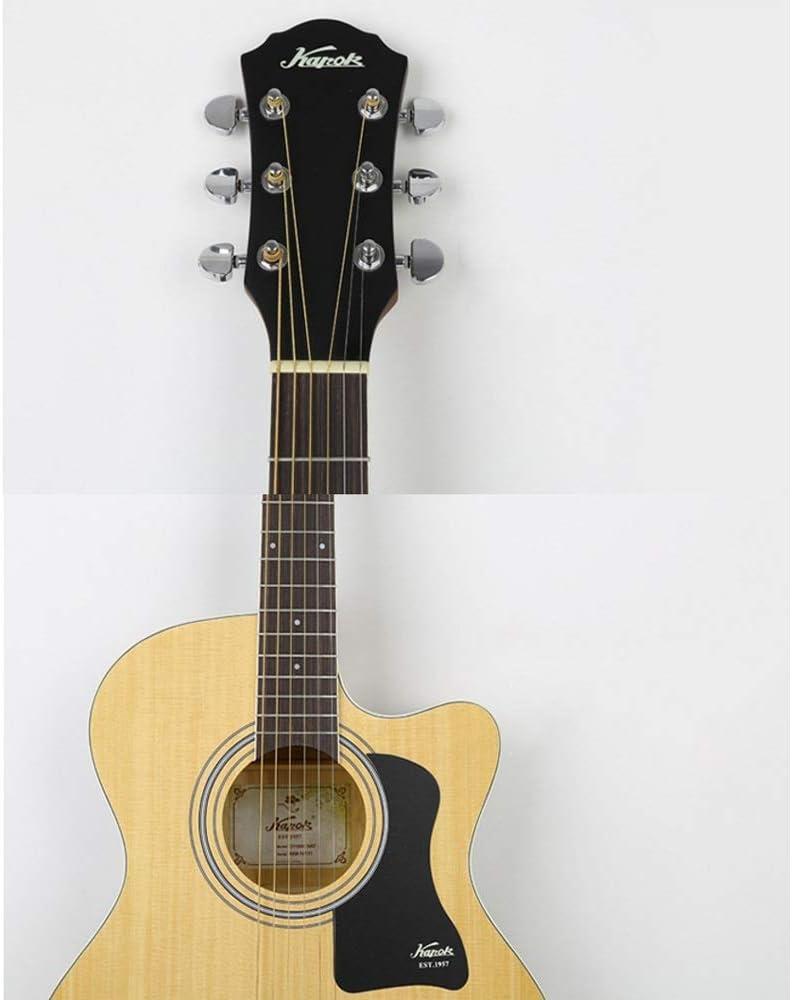 Loivrn 104cm Picea negra Guitarra Balada Guitarra de madera retro ...