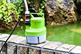 Green Expert 203617 1/6 HP Portable Submersible