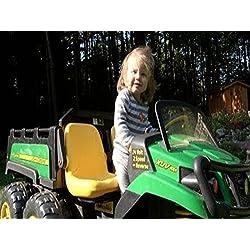 Little Sister Loves John Deere Gator For Kids