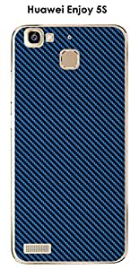 Enjoy Huawei 5S, diseño de carbono color Classic Blue