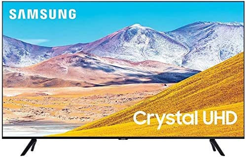 """Samsung UN55TU8000 55"""" 8 Series Ultra High Definition Smart 4K Crystal TV with an Additional 1 Year Coverage via Epic Protect (2020)"""