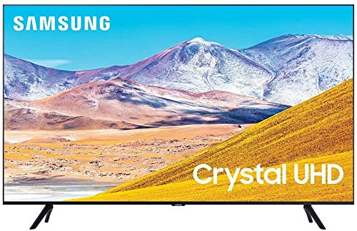 """Samsung UN55TU8000 55"""" 8 Series Ultra High Definition Smart 4K Crystal TV with an Additional 1 Year Coverage by Epic Protect (2020)"""