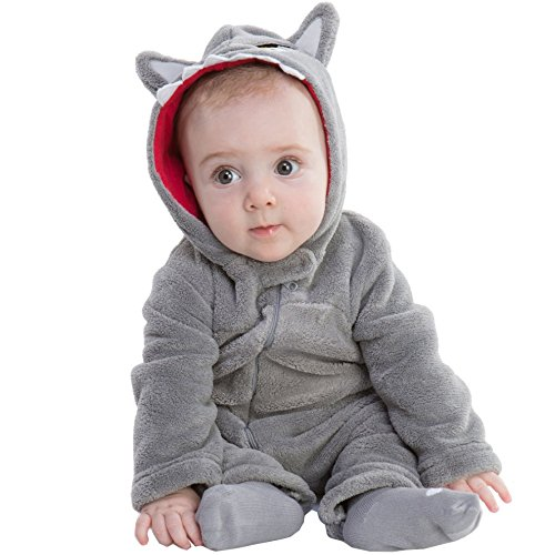 Big Bad Wolf Baby Costume (Toddler Wolf Costume)