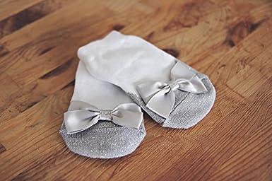 Mary Jane Socks Anti Slip With A Bling Sparkle Infant Socks 12-18 Months