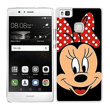 FUNDA CARCASA PARA Huawei P9 Lite DISEÑO MINNIE: Amazon.es ...