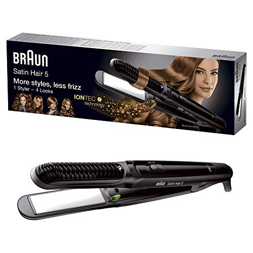 Braun ST570 Satin Hair 5 Ceramic Straightener, 220 Volts (Not for USA)