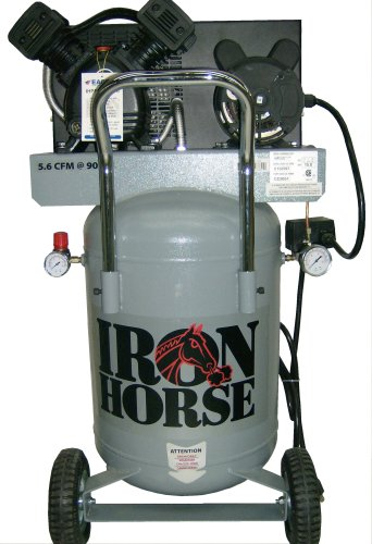 Iron Horse IHP5120V1-US 20-Gallon 125 PSI Max Electric Compressor