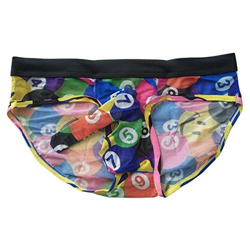 (Jack Smith Sexy Mens See-Through Underwear Penis Pouch Briefs)