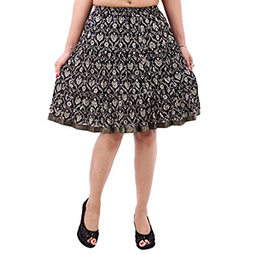 Indian Handicrfats Export Fashionable Designer Multicolor Short Skirt